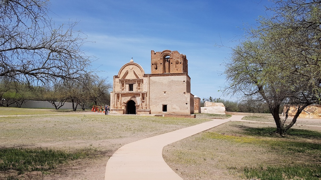 The old mission church of Tumacácori