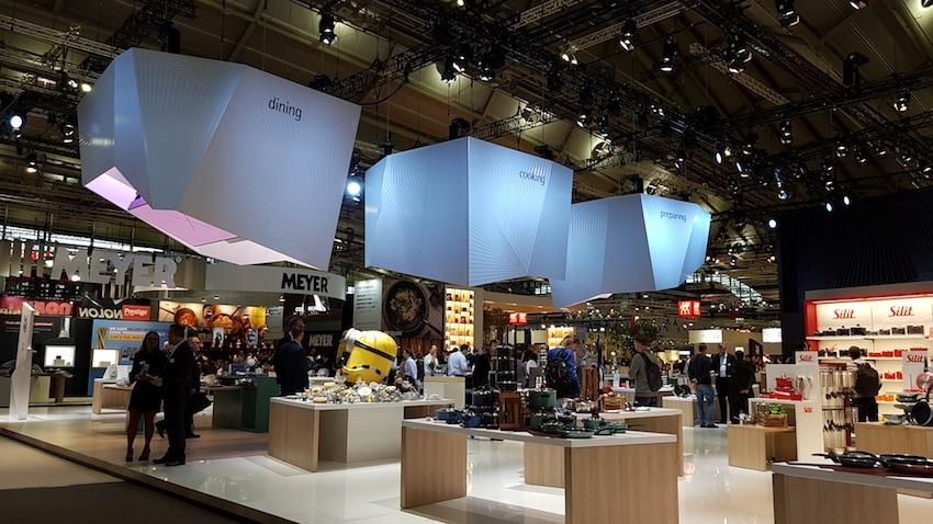 Ambiente 2019: 4.451 Aussteller aus 92 Ländern präsentierten ein riesiges Angebot in der Frankfurter Messe.