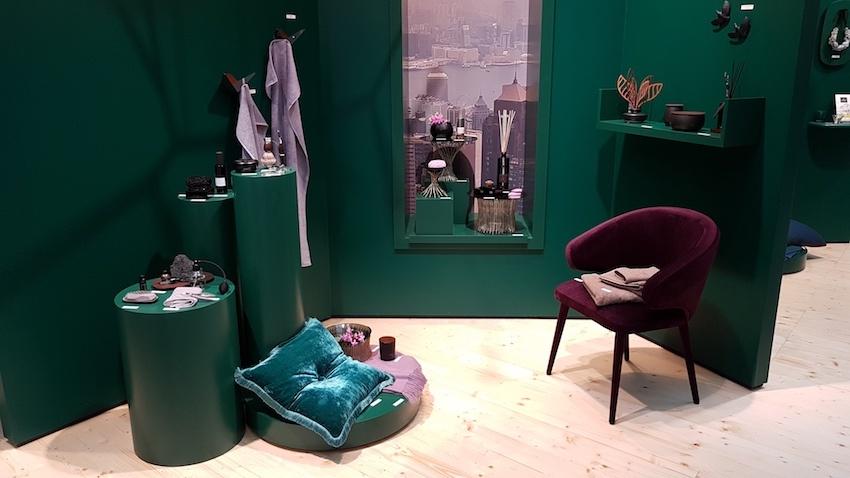 """Die Trends 2019: Das zeitlos-elegante Ambiente der """"Tasteful Residence"""" dient auch als Inspiration für die Gestaltung von Schaufenstern und Showrooms."""