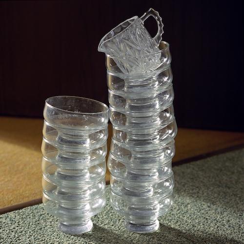 """Birthe Piontek: Abendlied, """"Bowls"""" - Unsere Glasschalen für den Nachtisch. Kein gemeinsames Mittagessen ohne einen süßen Abschluss."""